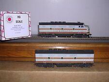Stewart #5110 Lackawanna Emd F-3A & B Phase I Diesel Locos #606A & B H.O.Gauge