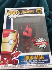 Funko Pop: Chrome Iron Man! Exclusif! Avengers! Marvel! #285
