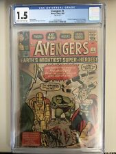 Avengers #1 - CGC 1.5 - Origin & 1st appearance of the Avengers