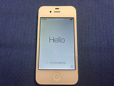 Apple iPhone 4 - 8GB - White (AT&T) A1332 (GSM) - with Monster iCarPlay Wireless