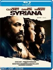SYRIANA (George Clooney, Matt Damon, Jeffrey Wright) Blu-ray Disc
