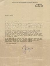 JAMES KIRKWOOD JR. - TYPED LETTER SIGNED 03/01/1981