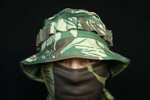 """Russian Boonie Hat M45 """"Scout"""" in Rhodesian brushstroke camo"""