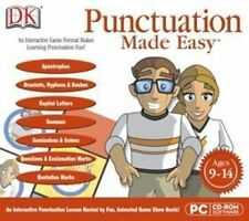 DK PUNCTUATION MADE EASY  Targets Exactly Where Progress is Needed  XP Vista 7 8