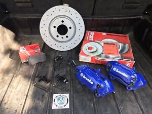 Big Brake Kit BBK BMW E36 E46 Z3 E30(5x120) - 337 mm / 4 pot BREMBO Zimmerman