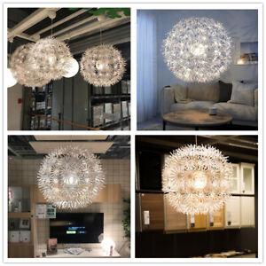 IKEA Nordic Creative Dandelion Chandelier Contemporary Snowflake Pendant Lamp