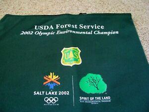 Salt Lake City Utah USA 2002 19th Winter Olympic  Staff cloth bag  Brand New
