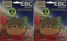 EBC SV Series Severe Duty Front Brake Pads 2007-2011 Can-Am Renegade 800 2 Sets