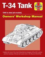 Soviet T-34 Tank Manual H6094