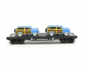 Lionel Trains 6-17559 Route 66 Series Flat Car With Station Wagons