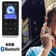 8GB OLED Bluetooth BT MP3 MP4 Player HIFI Music Speakers Media FM Radio Recorder
