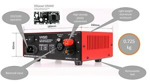 New 500W integrated amplifier DIY kit, balanced preamp,(ICEpower125ASX2 not inc)