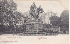 AK Hildesheim. Denkmal Kaiser Wilhelm I. Karte ungelaufen.