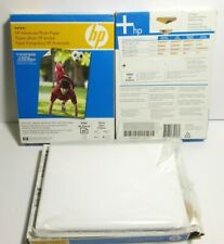 HP Advanced Glossy Photo Paper inkjet 120 Sheets 5 x 7 New Sealed + An open pack