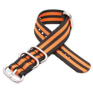 Sports Watch Strap Belt 18MM 20MM 22MM 24MM Men Women Nylon Bracelet Watcband