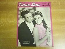 February 1957, PICTURE SHOW, Janette Scott, Tom Conway, Maureen Swanson.