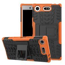Etui Hybride 2 Pièces Extérieur Orange housse étui pour Sony Xperia XZ1 Compact