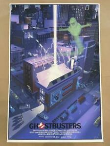 Mondo Laurent Durieux Ghostbusters art poster print signed #/375