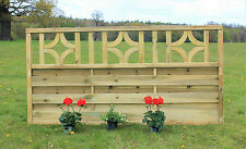Wooden Fence Panels W180cm/6ft x H90cm/3ft  Decking Fencing