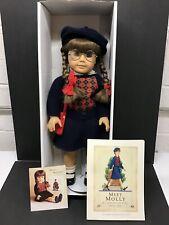"""American Girl Doll Pleasant Company Molly McIntire 18"""" Doll"""
