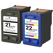 2PK 21/22 C9351A C9352A Ink For HP Deskjet F2100 F2210 F2280 F4135 F4140 F4180