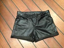 Short en toile huilée noir Naf Naf 34 NEUF