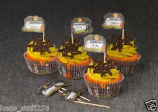 Halloween Cupcake Liners & Picks , Good Cook Sweet Creations, Graveyard Scene