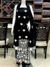 Kashmiri Embroidered Suit, Women Indian Ethnic Wear, Party Wear Salwar Kameez