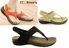 CC resorts shoes Cloud comfort thong footbed sandals with dot detail Fala