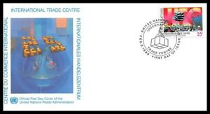 United Nations (Centre du commerce international) 1990 FDC  premier jour - 1