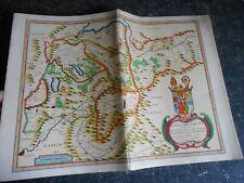 Ancienne Carte de Savoie ( Société Générale) Vignette Nice et la Savoie ,Piemont
