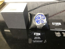 Mens Storm Watch Dualtron Special Edition Blue Glass