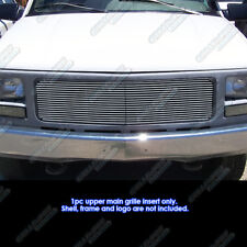 Fits 1994-1998 GMC C/K Pickup/94-99 Suburban/Yukon Single Lights Billet Grille