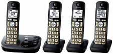 Panasonic KX-TGD224M DECT 6.0 Cordless Phone with Answering Machine - 4 Handsets