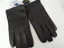 BNWT Polo Ralph Lauren Black Nappa Leather 3M Thinsulate Gloves - M GIFT IDEA!