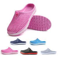 Summer Sports Beach Breathable Mules Sandals Home Bath Slippers Women Men Shoes