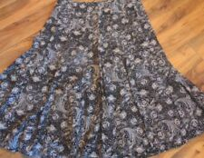 Wear to Work Machine Washable Floral Skirts for Women