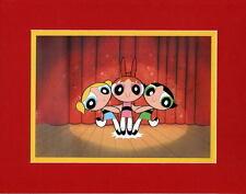 POWDER PUFF GIRLS PRINT PROFESSIONALLY MATTED Hanna Barbera
