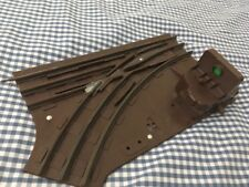 LIONEL O GAUGE 3 RAIL LEFT HAND POINTS WITH DISPLAY VERY VERY RARE HORNBY