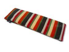 Deluxe Pile Inverno Strisce Stampa LAVANDA borsa grano calore Chill PACK LARGE 44cm