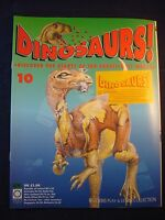 DINOSAURS MAGAZINE - ORBIS  - Play and Learn - Issue 10 - Stegoceras