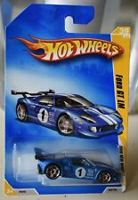 HOT WHEELS 2009 FE FORD GT LM  BLUE 39/42 NEW