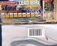 Plus Model 0,3mm Kabel Leitung Anschlusskabel für Modell-Bausatz 1:32/48/72/87
