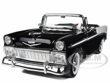 1956 CHEVROLET BEL AIR BLACK 1/18 LTD TO 600PC WORLDWIDE BY ROAD SIGNATURE 82128