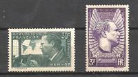 France 1937 Yvert n° 337 et 338 neuf ** 1er choix