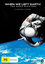 When We Left Earth - The NASA Missions (DVD, 2010, 4-Disc Set)