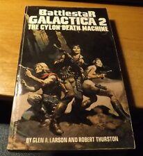 Vin 1979 Berkley Paperback Battlestar Galactica #2 The Cylon Death Machine 250pp