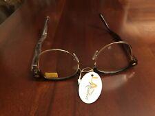 LA Readers Women Reading glasses BROWN BONE +1.75 New