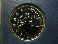 1996 Canadian Specimen Quarter ($0.25)