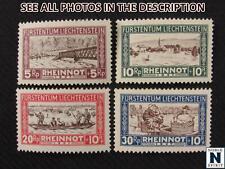 NobleSpirit No Reserve (TH2) Remarkable Liechtenstein B7-B10 MH VF Set = $88 CV